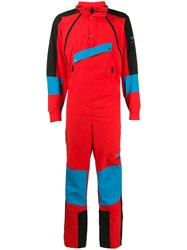 The North Face 92 Extreme Jumpsuit Red