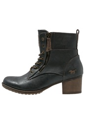 Mustang Laceup Boots Graphite Dark Gray