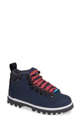 Native Fitzsimmons Treklite Waterproof Boot Regatta Blue White Onyx