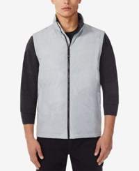 32 Degrees Water Resistant Down Vest Grey Melange