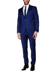 Luigi Bianchi Mantova Suits Blue