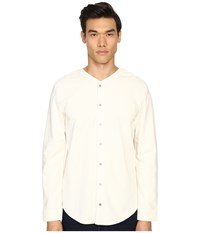 Matiere Bigsby French Terry Button Up White