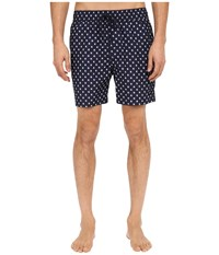 Jack Spade Mini Tree Grannis Swim Trunks Navy