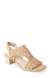 Me Too Women's Madelyn Sandal Cappuccino Suede