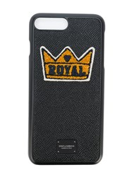 Dolce And Gabbana Royal Iphone 7 Plus Case Black