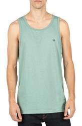 Volcom Men's Solid Tank Sea Blue