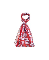 Forever Collectibles St. Louis Cardinals All Over Logo Infinity Scarf Red