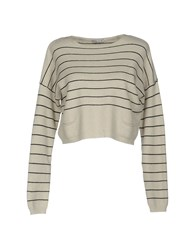 Hope Collection Sweaters Light Grey