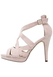 Pier One High Heeled Sandals Pink Rose