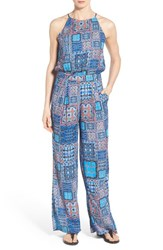Women's Kut From The Kloth 'Greta' Patchwork Print Jumpsuit