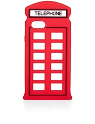 Lulu Guinness Red Telephone Box Iphone 7 Case