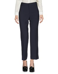 Cappellini By Peserico Casual Pants Dark Blue