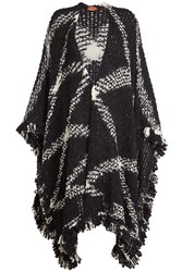 Missoni Cape With Wool And Mohair Multicolored