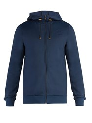 Iffley Road Fife Hooded Track Top Navy