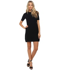 Marc By Marc Jacobs Scooter Sweater Short Sleeve Dress W Shoulder Buttons