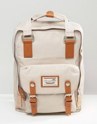 Doughnut Backpack Macaroon In Ivory Grey