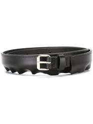Peter Jensen Pleat Belt Black