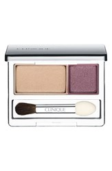 Clinique 'All About Shadow' Eyeshadow Duo Beach Plum New