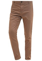 Knowledge Cotton Apparel Trousers Sand