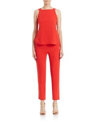 Sachin Babi Guava Layered Effect Jumpsuit