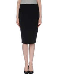 D.Exterior Knee Length Skirts Steel Grey