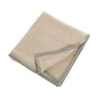 Oyuna Arte Throw Beige With Soft Grey
