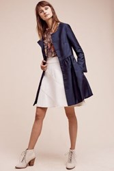 Anthropologie Paris Coat Navy
