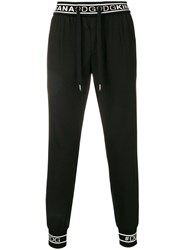 Dolce And Gabbana Pull On Trousers Black
