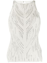Ermanno Scervino Glass Embellished Knit Top 60
