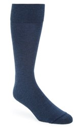Nordstrom Shop Heather Socks Blue Empire