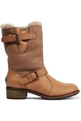Australia Luxe Collective Easy Rider Shearling Boots Sand