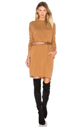 Demy Lee Lila Sweater Dress Tan