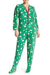 Hello Kitty Holly Jolly Jumper Plus Size Green