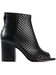 Ash 'Fancy' Perforated Boots Black