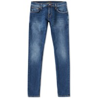 Nudie Jeans Long John Jean Blue
