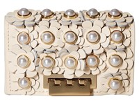 Zac Posen Earthette Card Case Ivory Clutch Handbags White