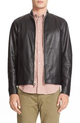 Rag And Bone Men's Agnes Lambskin Leather Jacket