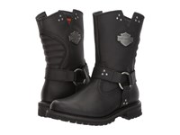 Harley Davidson Barford Black Women's Pull On Boots