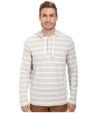 Nautica Striped Hoodie Sailingsal Men's Sweatshirt Beige