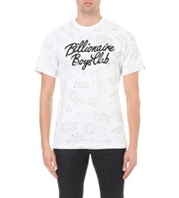 Billionaire Boys Club Galaxy Print T Shirt White