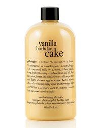 Philosophy Vanilla Birthday Cake Shower Gel 16 Oz. No Color