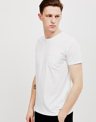 Edwin Pocket T Shirt White