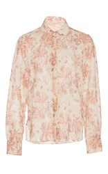 Brock Collection Baylee Floral Cotton Voile Blouse