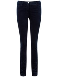 Pure Collection Athena Wash Velvet Jeans Midnight