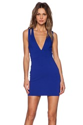Nbd X Revolve Late Night Bodycon Dress Blue