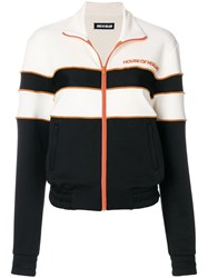House Of Holland Hill Contrast Panelled Track Top Nude And Neutrals