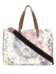 Golden Goose Bandana Canvas Tote Bag 60