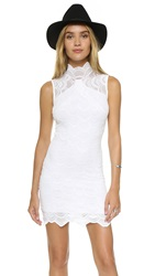 Nightcap Clothing Victorian Lace Sleeveless Dress Dove