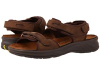 Drew Shoe Cascade Brown Nubuck Women's Sandals