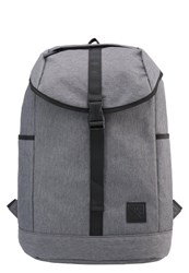 Your Turn Rucksack Dark Grey Webbing Black